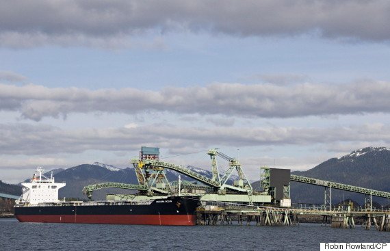 prince rupert coal ship bc