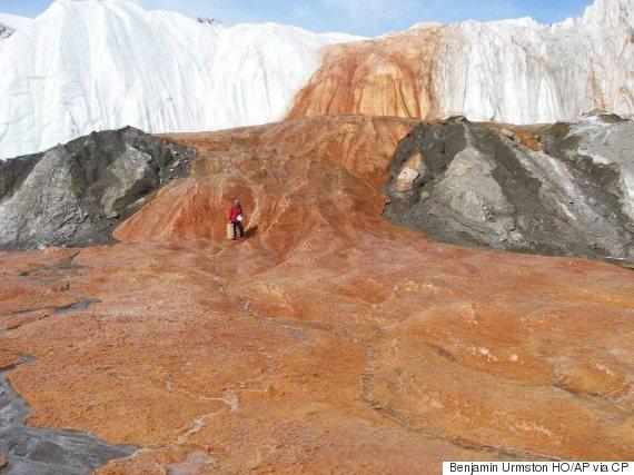 blood falls glacier