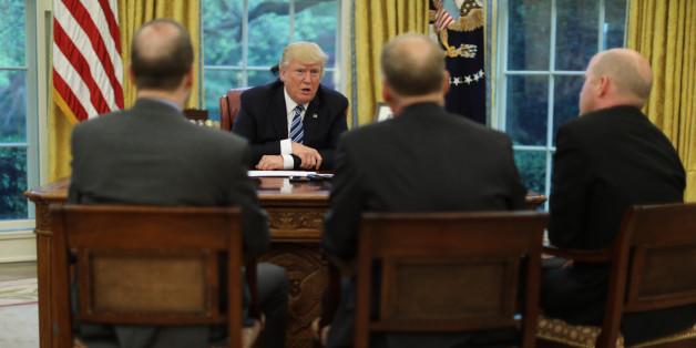 Trump verblüfft mit ehrlichem Interview: So naiv war seine Vorstellung von der Präsidentschaft