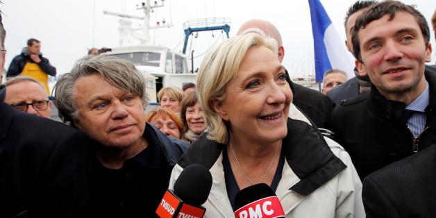 Marine Le Pen im Wahlkampf