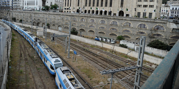 A general view shows Algeria's National Assembly parliament building behind a train track in the capital Algiers on September 3, 2012, as the parliament held its new session, following legislative elections in May, to set out the agenda of the promised package of political reforms.   AFP PHOTO/FAROUK BATICHE        (Photo credit should read FAROUK BATICHE/AFP/Getty Images)