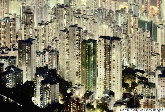 hong kong urban apartments