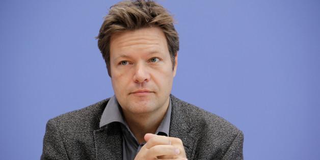Robert Habeck von den Grünen gilt in der Partei als Hoffnungsträger.