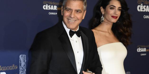 George Clooney enthüllt, wie er seine Frau mit einer Lüge zum ersten Date überredete