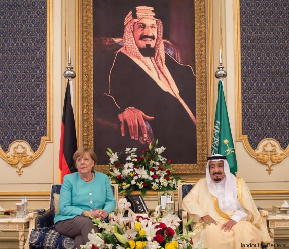 merkel saudi