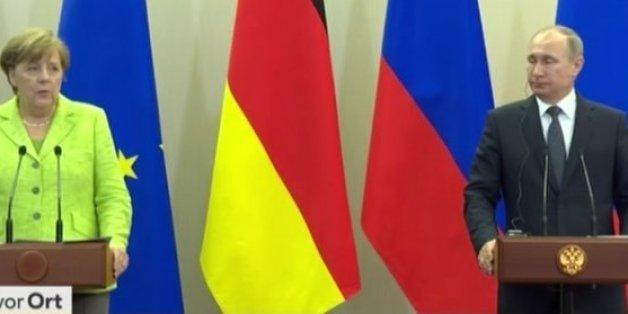 """Merkel zu Besuch bei Putin: """"Das Ziel ist es, die Sanktionen gegen Russland aufheben zu können"""""""