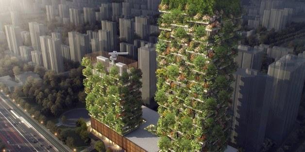 Die Baupläne von Stefano Boeris sind ein Konzept für das nachhaltige Wachstum in China.