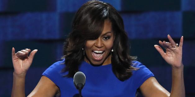 """Michelle Obama setzte sich als First Lady für """"Let Girls Learn"""" ein."""