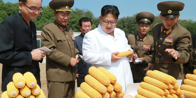 North Korean leader Kim Jong Un provides field guidance to Farm No. 1116 under KPA Unit 810, in this undated photo released by North Korea's Korean Central News Agency (KCNA) in Pyongyang September 13, 2016.   KCNA/via Reuters   ATTENTION EDITORS - THIS IMAGE WAS PROVIDED BY A THIRD PARTY. EDITORIAL USE ONLY. REUTERS IS UNABLE TO INDEPENDENTLY VERIFY THIS IMAGE. NO THIRD PARTY SALES. SOUTH KOREA OUT.
