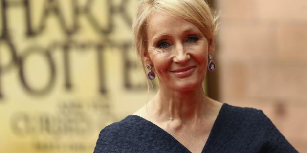 Auf Twitter macht sich die Harry-Potter Autorin J.K. Rowling über den US-Präsidenten Trump lustig