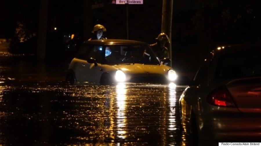 inondation ïïilebizard