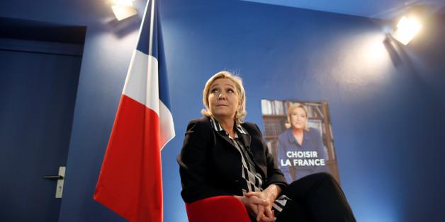 Die französische Rechtspopulistin Marine Le Pen will raus aus dem Euro - zumindest ein bisschen