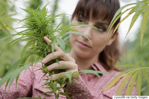 woman marijuana