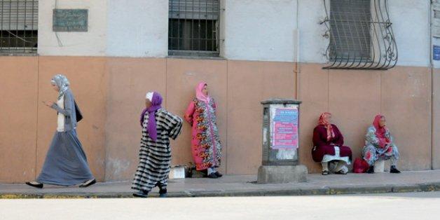 Femmes au Moukef de Casablanca