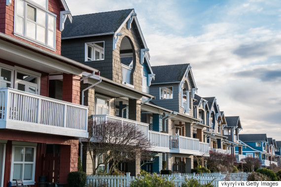row of townhomes vancouver