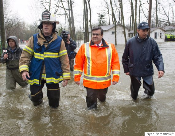 quebec floods denis coderre