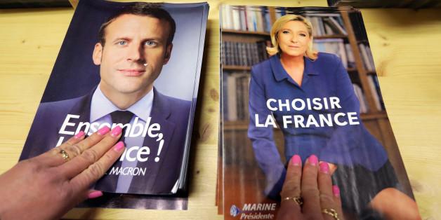 HuffPost-Umfrage: Franzosen finden Macron glaubwürdiger als Le Pen