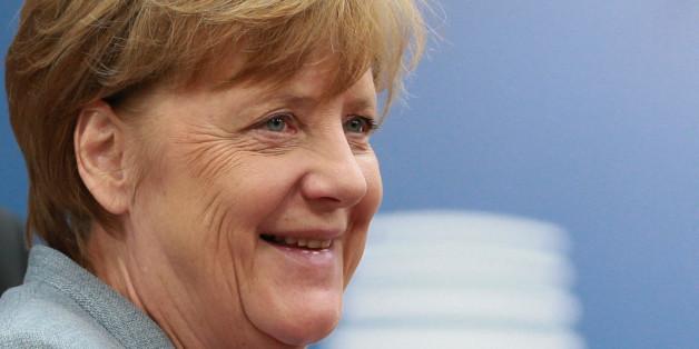 German Chancellor Angela Merkel arrives at the EU summit in Brussels, Belgium, April 29, 2017. REUTERS/Christian Hartmann