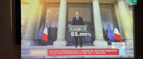 victoire macron