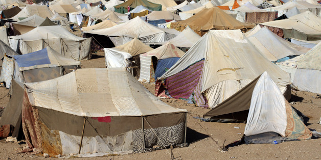A general view of the Saharawi protest camp on the outskirts of Western Sahara's main city, Laayoune, November 6, 2010. The thousands in this camp amount to be the biggest protest in three decades in Western Sahara, a former Spanish colony annexed by Morocco in 1975 and now the subject of Africa's longest-running territorial dispute. However, the protesters are steering clear of the status question and are focusing instead on bread-and-butter issues: they say they want the Moroccan government to