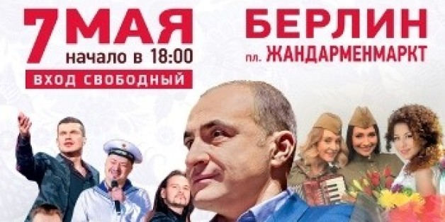 """Tag des Sieges"": Russland organisiert pompöses Propaganda-Konzert in Berlin"