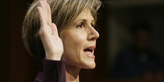Trump feuerte Justizministerin Yates - jetzt bringt sie ihn mit einer Aussage in Bedrängnis