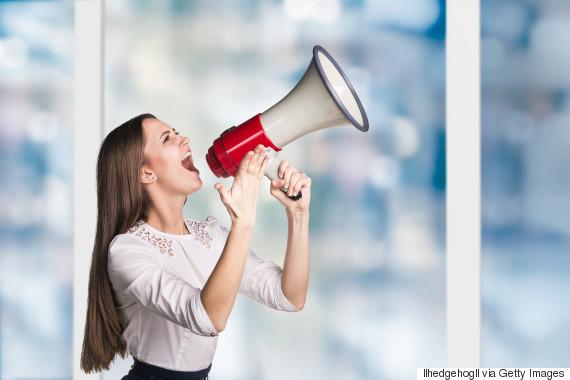 speaker woman