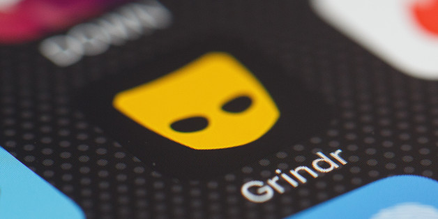 LONDON, ENGLAND - NOVEMBER 24:  The 'Grindr' app logo is seen amongst other dating apps on a mobile phone screen on November 24, 2016 in London, England.  Following a number of deaths linked to the use of anonymous online dating apps, the police have warned users to be aware of the risks involved, following the growth in the scale of violence and sexual assaults linked to their use.  (Photo by Leon Neal/Getty Images)
