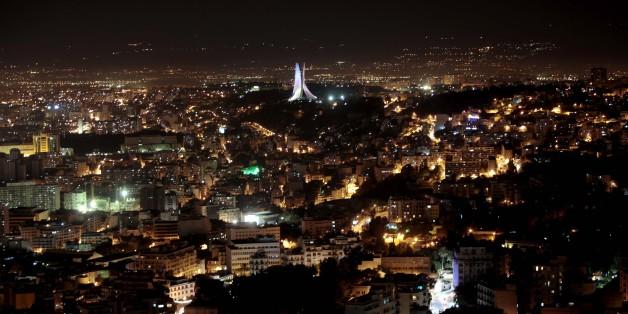 View of Algiers by night, Algiers on November 25, 2016. (Photo by Billal Bensalem/NurPhoto via Getty Images)