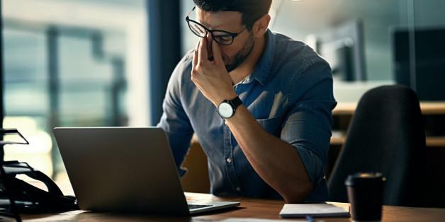 Stress im Beruf ist ein häufiger Faktor für Depressionen