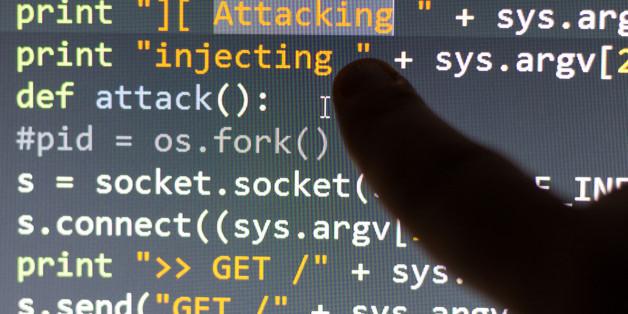Conceptual cyber attack code