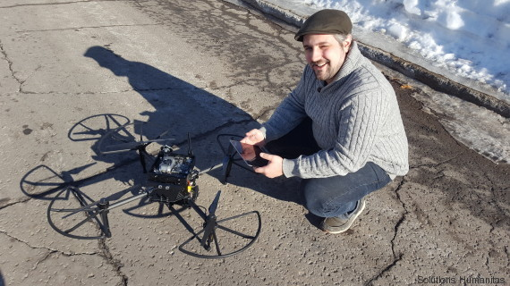 david saint onge drones