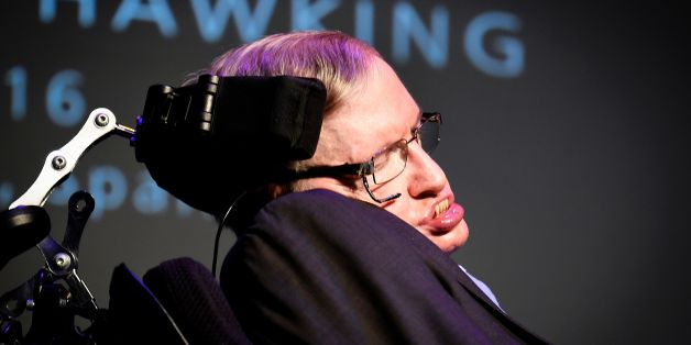 British theoretical physicist professor Stephen Hawking gives a lecture entitled: 'A Brief History of Mine' during the Starmus Festival on the Spanish Canary island of Tenerife on June 29, 2016 / AFP / DESIREE MARTIN        (Photo credit should read DESIREE MARTIN/AFP/Getty Images)