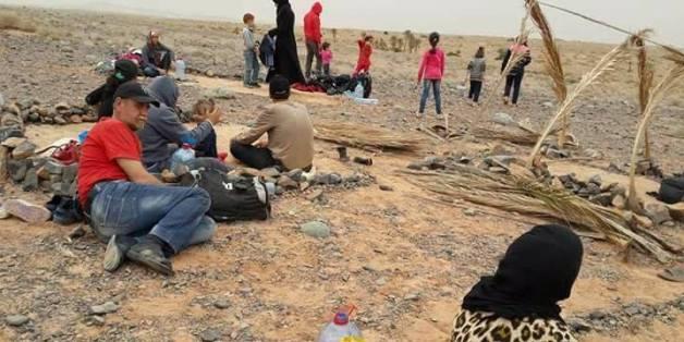 L'OMDH crée un comité de suivi pour les réfugiés syriens coincés près de Figuig