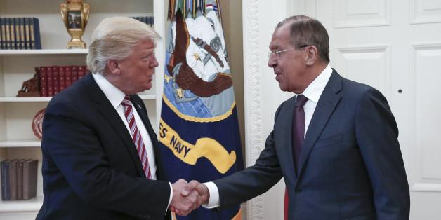 Donald Trump soll Geheimes an Russland weitergegeben haben