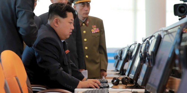 North Korean leader Kim Jong Un gives field guidance at the Sci-Tech Complex, in this undated photo released by North Korea's Korean Central News Agency (KCNA) in Pyongyang October 28, 2015. REUTERS/KCNA ATTENTION EDITORS - THIS PICTURE WAS PROVIDED BY A THIRD PARTY. REUTERS IS UNABLE TO INDEPENDENTLY VERIFY THE AUTHENTICITY, CONTENT, LOCATION OR DATE OF THIS IMAGE. FOR EDITORIAL USE ONLY. NOT FOR SALE FOR MARKETING OR ADVERTISING CAMPAIGNS. THIS PICTURE IS DISTRIBUTED EXACTLY AS RECEIVED BY REU