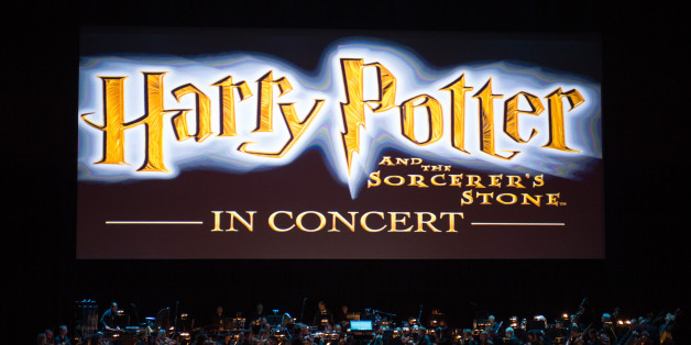 NEW YORK, NY - MARCH 31:  The movie Harry Potter And The Sorcerer's Stone is seen onscreen during the Harry Potter And The Sorcerer's Stone Concert at Radio City Music Hall on March 31, 2017 in New York City.  (Photo by J. Kempin/Getty Images)