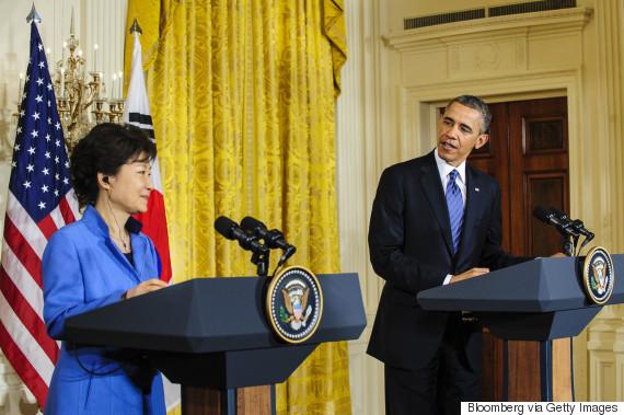 park geun hye obama 2013