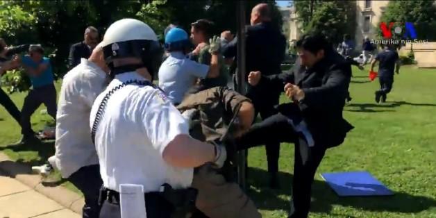 Medienbericht über G20-Gipfel: Erdogans prügelnde Leibwächter bereiten den Behörden Sorgen