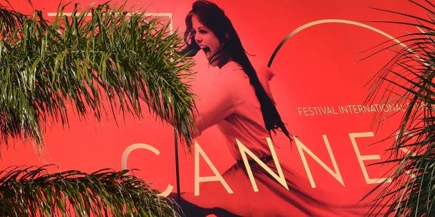 CANNES, FRANCE - MAY 16 : Huge '70th Cannes Film Festival' poster installed at the Palais des Festival, where the 70th Cannes Film Festival films screening building in Cannes, France on May 16, 2017. The 70th annual Cannes Film Festival will run from 17 to 28 May. (Photo by Mustafa Yalcin/Anadolu Agency/Getty Images)