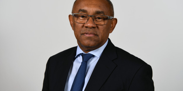 MANAMA, BAHRAIN - MAY 08:  FIFA Vice President and CAF President Ahmad Ahmad poses for a portrait ahead of the 67th FIFA Congress on May 8, 2017 in Manama, Bahrain.  (Photo by Mike Hewitt - FIFA/FIFA via Getty Images)