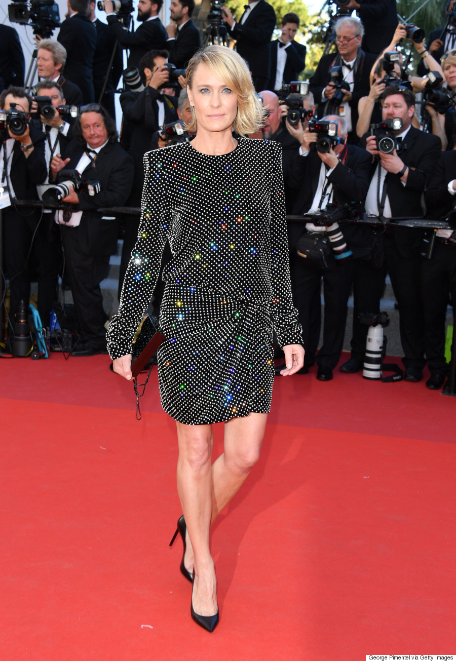 robin wright cannes