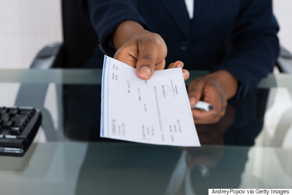 paycheck hand