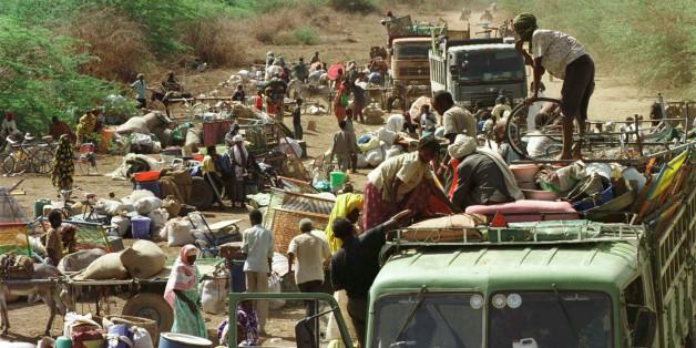 Der Norden Ugandas wird zur Zuflucht für 1,2 Millionen Menschen.