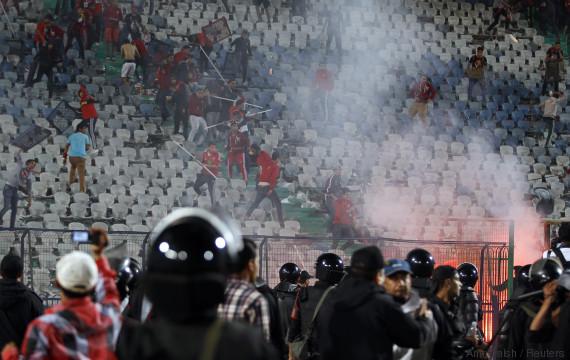 violence stadium tunisia