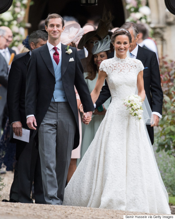 o PIPPA MIDDLETON 570 - Royal Wedding Reception Photos