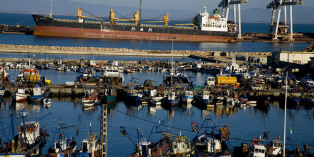 The port of Annaba. (Photo by michel Setboun/Corbis via Getty Images)