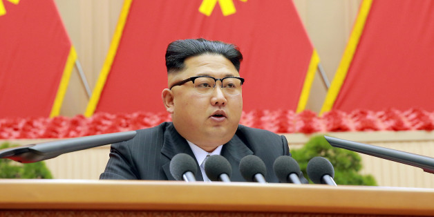North Korean leader Kim Jong Un speaks during the first party committee meeting in Pyongyang, in this undated photo released by North Korea's Korean Central News Agency (KCNA) December 25, 2016. REUTERS/KCNA   ATTENTION EDITORS - THIS PICTURE WAS PROVIDED BY A THIRD PARTY. REUTERS IS UNABLE TO INDEPENDENTLY VERIFY THE AUTHENTICITY, CONTENT, LOCATION OR DATE OF THIS IMAGE. FOR EDITORIAL USE ONLY. NOT FOR SALE FOR MARKETING OR ADVERTISING CAMPAIGNS. NO THIRD PARTY SALES. NOT FOR USE BY REUTERS THI