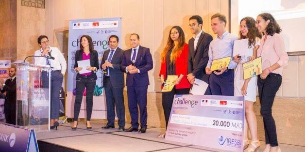 Trois équipes franco-marocaines ont été récompensées.