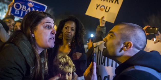 """""""Du wirst an einem Baum hängen"""": Wie Trump-Fans versuchen, Kritiker des Präsidenten einzuschüchtern"""